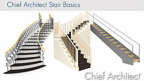 Training Videos / Display Newels, Balusters, Railings And Stair Breaklines  In Plan View