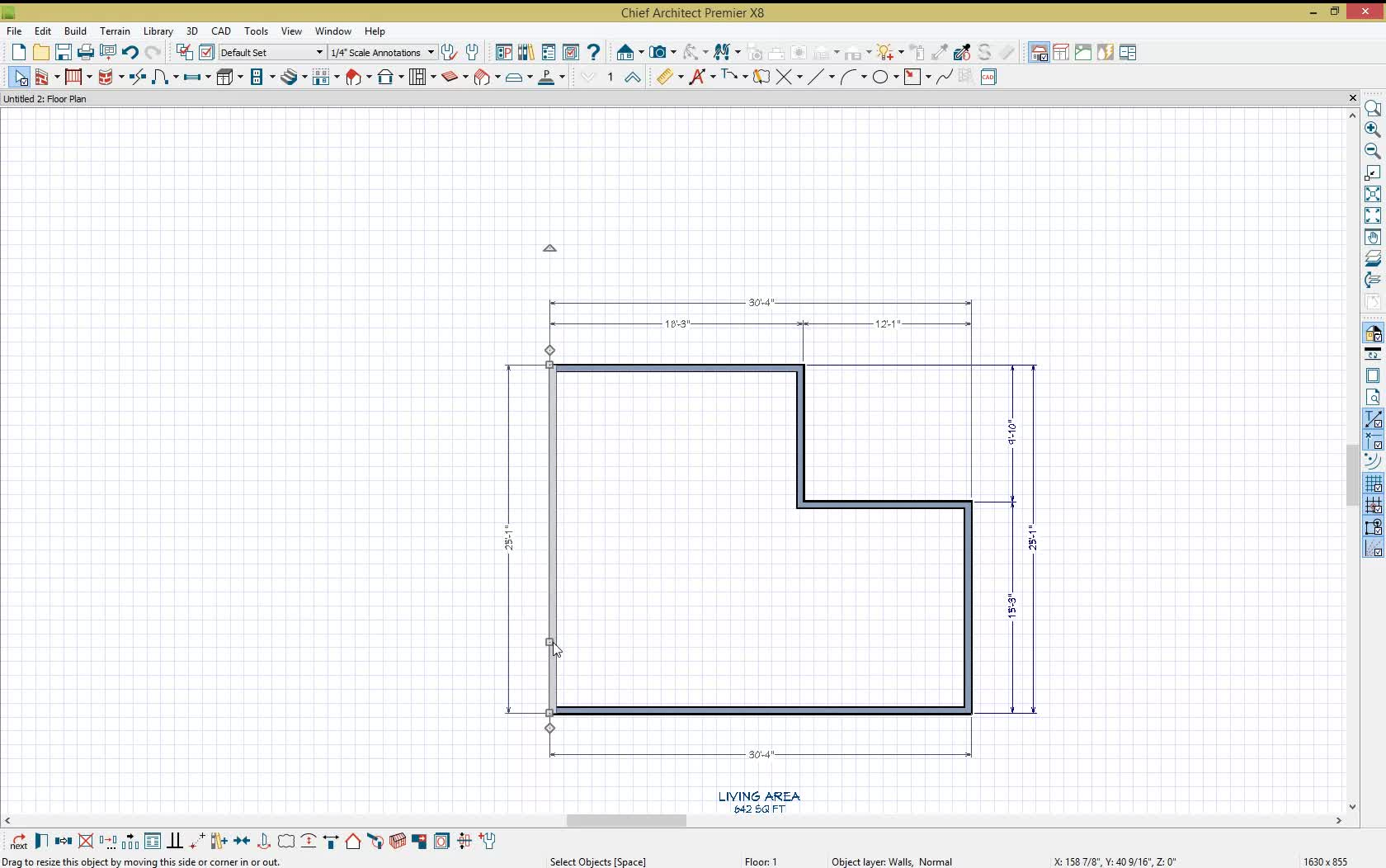 Solved scales eng to arch autodesk community good old inf creating exterior dimensions automatically nvjuhfo Images