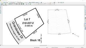 Creating a Site Plan or Plot Plan