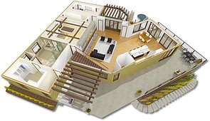 Creating The Main Floor Plan Breckenridge Home Design