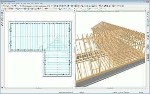 Framing With Scissor Trusses