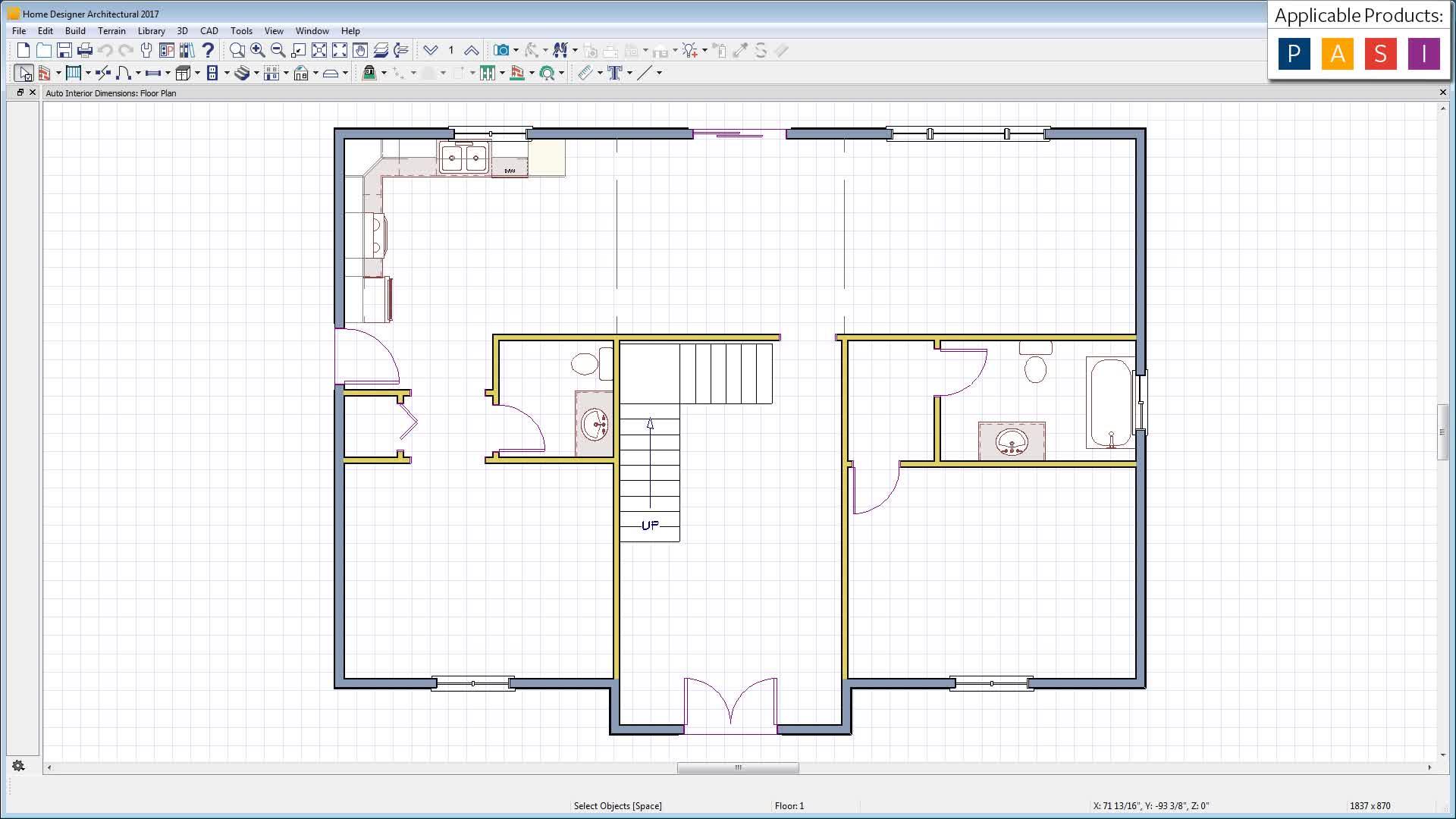 Automatic Interior Dimensions