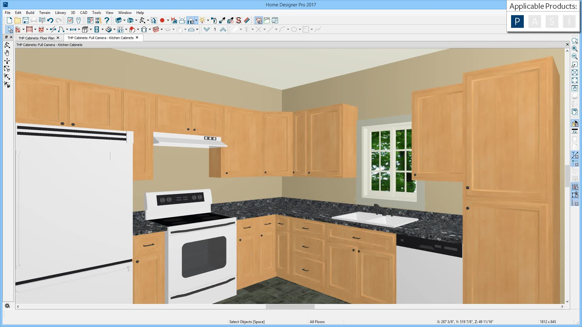 Cabinets in Home Designer Pro