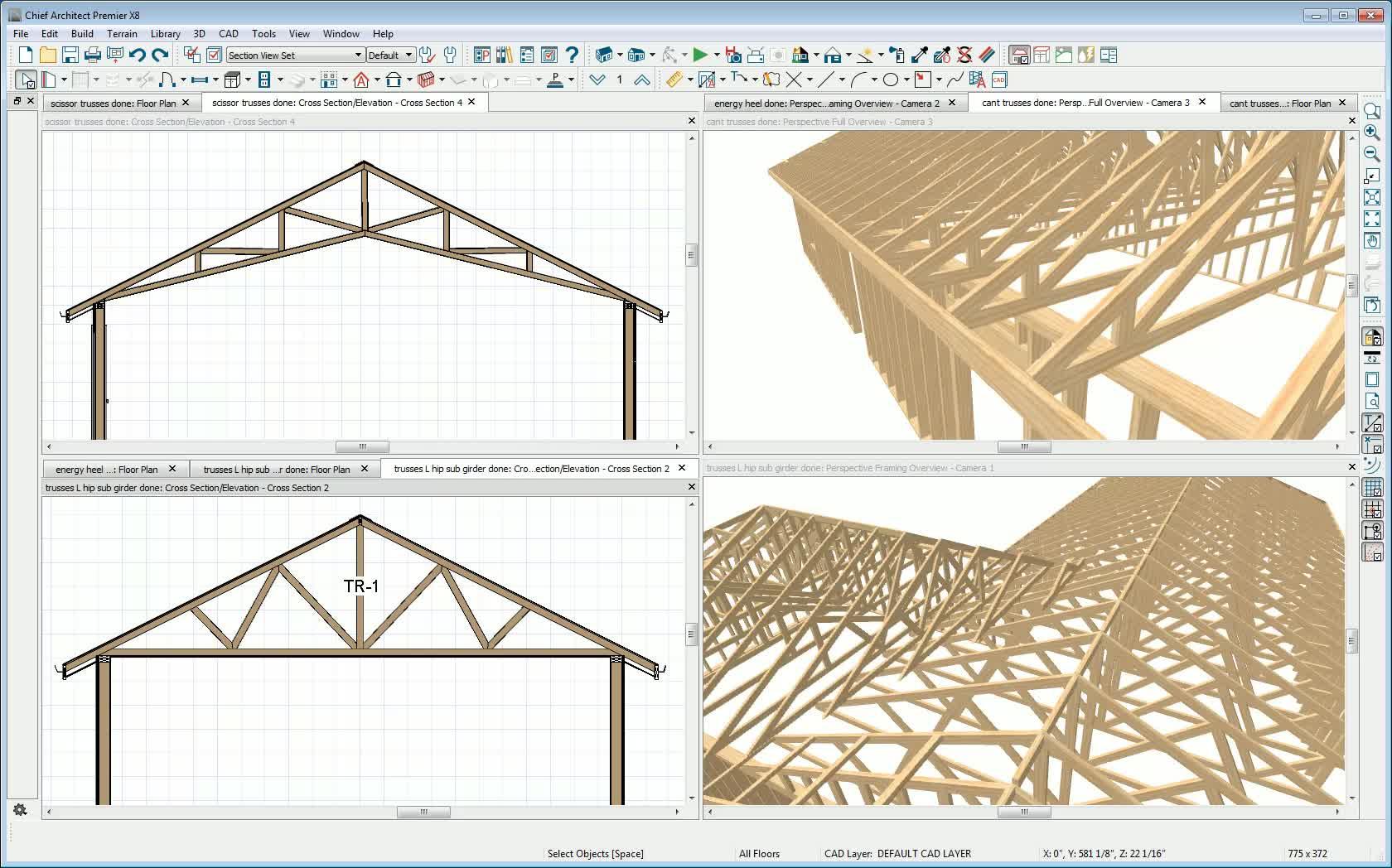 Scissor truss roof for mobile homes design scissor truss for Scissor roof truss prices