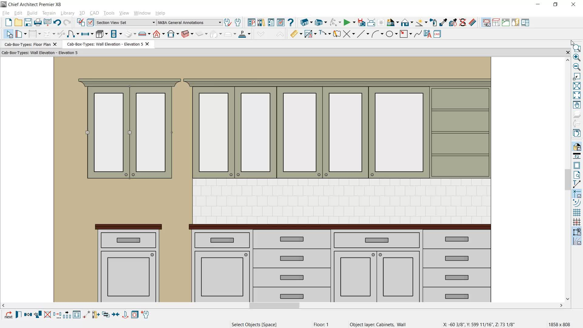 sc 1 st  Chief Architect & Cabinet Types - Framed and Frameless pezcame.com