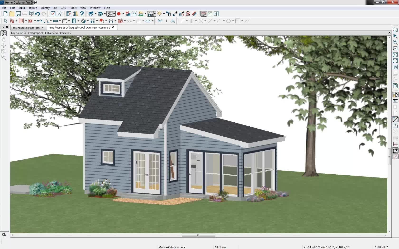 creating angled windows